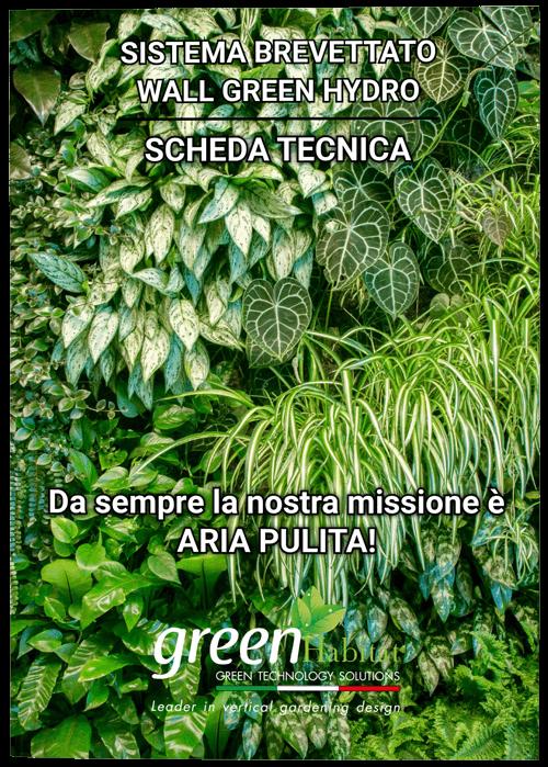 scheda wall green hydro copertina