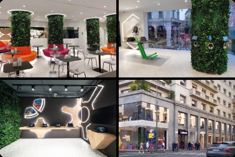 Lenovo Milano, primo concept store Europeo Design e Sostenibilità