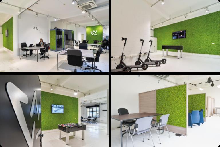 Westpole, sostenibilità e comfort in ufficio